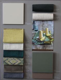 A moodboard is always an inspiration to interior design!