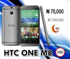 Get flat 50% #Discount on #HTC_One_M8 at http://www.blessingcomputers.com/products/PIN3XKTURK-HTC-One-M8.html