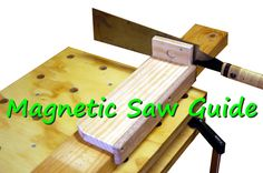 Make precision cuts every time with this shop made saw guide