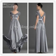 the most color worn by mother of the bride Mob Dresses, Formal Dresses, Mother Of The Bride, Chiffon, Short Sleeves, V Neck, Lace, Hot, Sexy