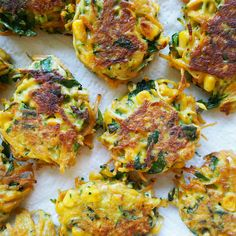 These Healthy Vegetable Fritters for kids are not only absolutely delicious but are chockfull of delicious vegies, I managed to sneak 2 zucchini and 1 Carrot and 1 Sweet Potato into the batter, alongside a huge handful of fresh herbs.