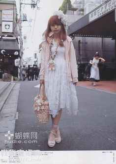 get into the fashion: japanese street fashion: FRUiTS magazine (August) Japanese Streets, Japanese Street Fashion, Fruits Magazine, Bette Davis Eyes, Dress Up Outfits, Dresses, Mori Girl Fashion, Harajuku Fashion, Fashion Accessories