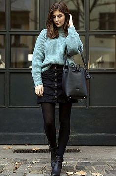trendy skirt outfits with tights winter cardigans. trendy skirt outfits with tights winter cardigans Amrila Aqidiwi amqidwi Clothing Ideas trendy skirt outfits with tights Simple Winter Outfits, Winter Mode Outfits, Winter Fashion Outfits, Holiday Outfits, Spring Outfits, Trendy Fashion, Fashion Trends, Fashion Ideas, Womens Fashion