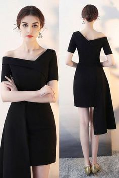 6886d682f6f6 +33Essential Things For Homecoming Dresses Short Tight Black Sleeve 73