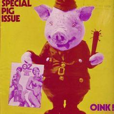 Magazine OZ Cover Martin Sharp Psychedelic Design http://www.grapheine.com/affiches/martin-sharp-sydneydelique