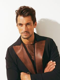 Madame Figarco magazine. Hair styles: Larry King / Model: David Gandy