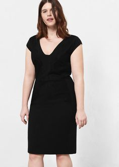 Violeta BY MANGO Lace Panel Dress - $129.99