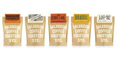 Salvador Coffee on Packaging of the World - Creative Package Design Gallery
