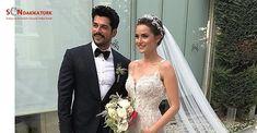 Burak Özçivit ve Fahriye Evcen evlendi! İşte düğün fotoğrafları