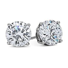 Shop a great selection of DTLA White Gold Solid Cubic Zirconia Stud Earrings carats). Find new offer and Similar products for DTLA White Gold Solid Cubic Zirconia Stud Earrings carats). Cross Earrings, Cuff Earrings, Fine Jewelry, Women Jewelry, Fashion Jewelry, Gold Jewelry, Jewellery, Black Silver, White Gold