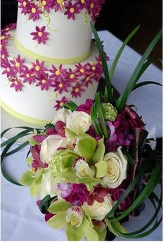 picture of modern wedding bouquet with tropical flowers. Tropical Wedding Bouquets, Tropical Flowers, Wedding Flowers, Wedding Stuff, Wedding Designs, Wedding Styles, Destination Wedding, Wedding Planning, Wedding Wishes