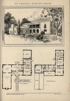 Unusual Spanish Home by Architect Andrew Charles Borzner. The book of beautif… Unusual Spanish Home by Architect Andrew Charles Borzner. The book of beautiful homes. by Andrew C. Borzner Published 1932 BookReaderImages. .. http://www.beautyfashionfragrance.us/2017/05/27/unusual-spanish-home-by-architect-andrew-charles-borzner-the-book-of-beautif/
