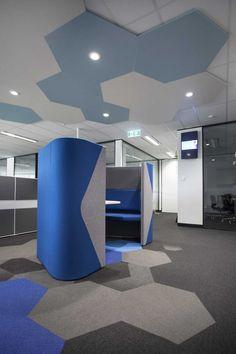 Zenith Interiors: Allermuir Haven Pod Duo. love floor and ceiling!