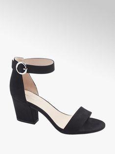 Duży wybór sandałów damskich w korzystnych cenach, dostawa gratis i 30 dni na zwrot w każdym sklepie! Znajdź wymarzone sandały damskie w sklepie Deichmann Graceland, Duffy, Fashion Boots, Heeled Mules, Heels, Heel, High Heel, Stiletto Heels, High Heels