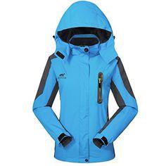 5a8f14d8e159f GIVBRO Waterproof Jacket Womens Rain Jacket - UPGRADED 2018  Raincoat  Ladies Outdoor Hooded Softshell
