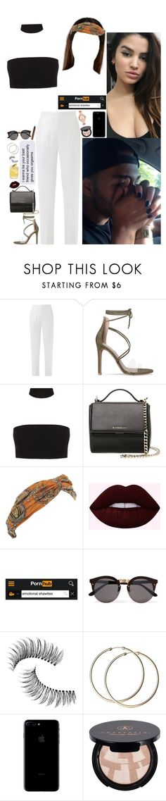 """I blow lots of cash, cause I won't live forever."" by allie-blair ❤ liked on Polyvore featuring Esme Vie, Givenchy, Forever 21, Lime Crime, Illesteva, Trish McEvoy, Anastasia Beverly Hills and Michael Kors"