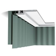 This modern styled step coving design is perfect for new built homes, can be turned to create a drop-down wall effect or ceiling projection. Ceiling Coving, Molding Ceiling, Gypsum Ceiling Design, Ceiling Rose, Rail Plafond, Bandeau Led, Orac Decor, Dado Rail, Panel Moulding