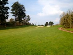 A view of the new 14th hole of the Cheshire golf course