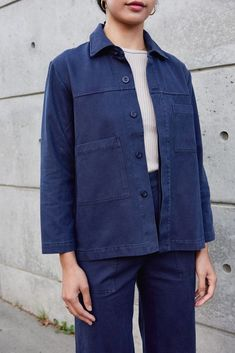 Fashion Tips Quotes Work Jacket.Fashion Tips Quotes Work Jacket 70s Fashion, Fashion Brands, Fashion Outfits, Work Jackets, Denim Jackets, Petite Fashion Tips, Minimal Fashion, Ethical Fashion, Aesthetic Clothes