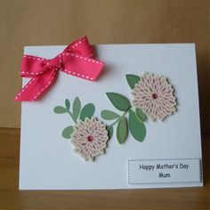 Simply Beautiful Mother's Day Card - Mum by Aunty Joan Crafts