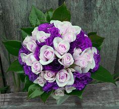 purple & pink bouquet
