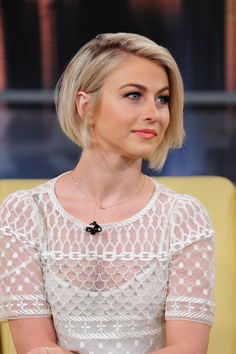 JULIANNE HOUGH at Good Day in New York 1501