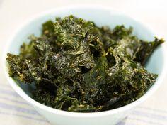 Kale Chips Recipe : Geoffrey Zakarian : Food Network - FoodNetwork.com