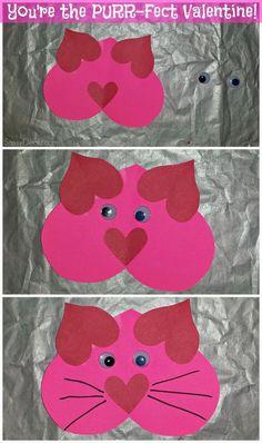 List of Easy Valentine& Day Crafts for Kids - Sassy Dealz List of Easy Valentines Day Crafts for Kids - Sassy Dealz Bear Crafts, Valentine's Day Crafts For Kids, Valentine Crafts For Kids, Daycare Crafts, Toddler Crafts, Preschool Crafts, Valentine Ideas, Kids Daycare, Science Crafts