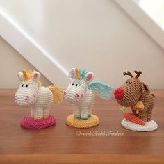 Mesmerizing Crochet an Amigurumi Rabbit Ideas. Lovely Crochet an Amigurumi Rabbit Ideas. Crochet Wool, Crochet Needles, Crochet Gifts, Kawaii Crochet, Cute Crochet, Crochet Patterns Amigurumi, Amigurumi Doll, Crochet Unicorn, Stuffed Animal Patterns