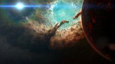 High Quality nebula image (Tyrek Black 1920x1080)