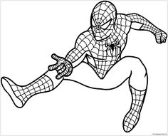 9 Best Spiderman Coloring Pages Images Spiderman Coloring