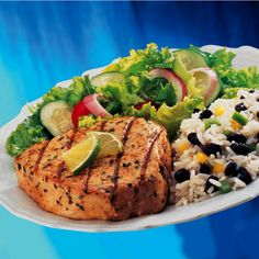 Enjoy fresh, grilled tuna marinated with the refreshing flavor of lime and OLD BAY Seasoning. Ugh! this looks so gooood! :|