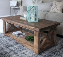 Rustic coffee table ideas (47)