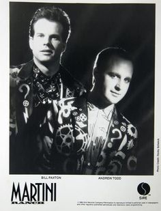 Bill Paxtons New Wave Past From Fish Heads to Martini Ranch  Actor Bill Paxton who died this weekend at age 61 following complications from surgery will of course be forever remembered for his standout performances in The Terminator Weird Science Aliens True Lies Titanic the HBO series Big Love and other films and television shows. But children of the 70s and 80s will surely never forget Paxtons past as the intrepid pesceterian in the cult-classic video for Barnes & Barness Dr…