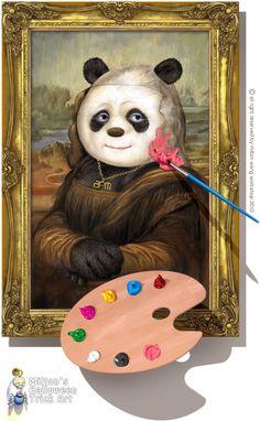 Trick art by Milton Wong
