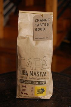 Liga Masiva coffee bag | Flickr - Photo Sharing!