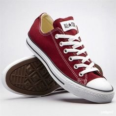 Converse, maroon (They match Lenior Rhynes college colors!) @Gregory Phillips