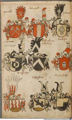 Wappen besonders von deutschen Geschlechtern Süddeutschland ?, 1475 - 1560 Cod.icon. 309  Folio 31v
