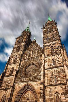 St. Lorenz Church Nuremberg Nürnberg Alemania Deutschland Germany