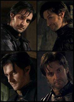 Richard Armitage. Sir Guy of Gisbourne. Robin Hood. Those faces!!!