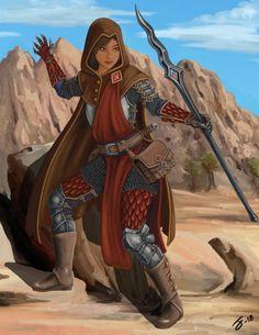 Emory the battlemage by I-M-M-O.deviantart.com on @DeviantArt