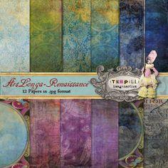 Deviant Scrap : itKuPiLLi Imagenarium ArsLonga Renaissance Papers