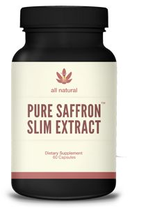 """Pure Saffron Slim - Stores Struggle to Keep Saffron Extract in Stock. Top Doctors Call it """"Miracle in a Bottle"""""""