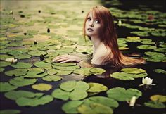 """Added to Beauty Eternal - A collection of the most beautiful women. for-redheads: submission from """" Water Nymph by Linnea Olsson """" Fantasy Photography, Portrait Photography, Water Photography, Poses Photo, Water Nymphs, Redheads, Character Inspiration, Fairy Tales, Photoshoot"""