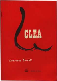 Clea Lawrence Durrell, Publisher Ulisseia, design Antonio Garcia, 1970