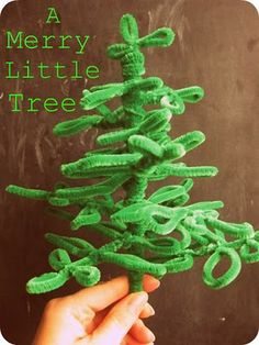 Pipe Cleaner Tree <3 - Re-pinned by @PediaStaff – Please Visit http://ht.ly/63sNt for all our pediatric therapy pins