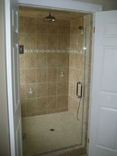 Walk in shower custom built by Hammer Construction