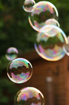 Amazing Rainbow Bubbles