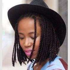 brown box braids pinterest - Google Search