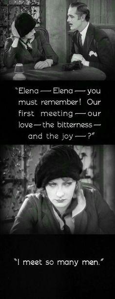 """The Temptress"" (1926, dir. Fred Niblo, starring Greta Garbo)"